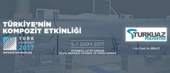 TURKUAZ POLYESTER, TURK KOMPOZİT 2017 FUARINA KATILIYOR